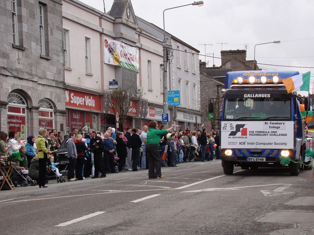 STF Racing in the Mitchelstown Parade